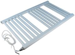 Center Cb Electric Straight Towel Warmer 1200 X 400Mm White