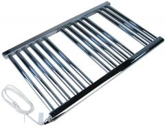 Center Cb Electric Curved Towel Warmer 800 X 500Mm Chrome
