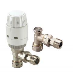 Danfoss RAS-C2 thermostatic radiator lockshield valve 15mm