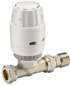 Danfoss Ras-C2 Straight Trv Combi 15 Mm