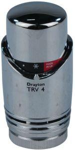 Invensys Drayton TRV4 TRV4 integral head only all Chrome Plated