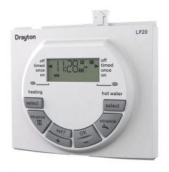Drayton LP20 dual channel programmer