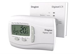 Drayton Digistat +2RF thermostat and single channel receiver