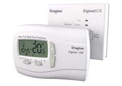 Invensys Drayton Digistat +3RF thermostat and single channel receiver