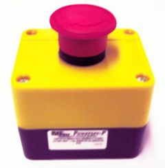 Black Teknigas BC66ESB/P twist-release emergency stop button