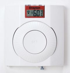 Drayton Digistat Plus 13616 digital radio frequency controlled cylinder thermostat