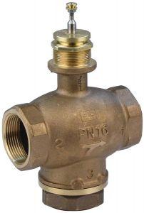 Schneider Electric MZX4601 3-port low pressure hot water valve 1.1/2'' CV=20