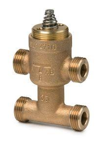 Siemens VMP47.10-1S 4 port fan coil unit valve 1/2 kv=1.0