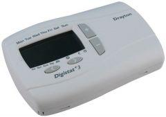 Invensys Drayton Digistat Plus 3 7day digital thermostat 240v