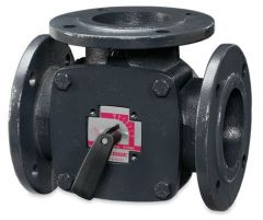 Essco Esbe 11100600 3port flanged iron valve 50mm kv60