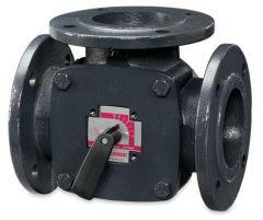 Essco Esbe 11101000 3port flanged iron valve 80mm kv150
