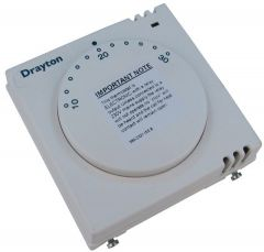 Invensys Drayton RTS9 volt free room thermostat with LED