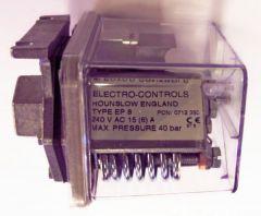 Black Electro Controls EP-8 liquid pressure switch ip65