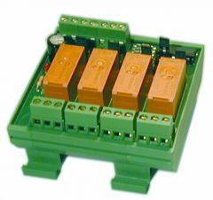 Electro Controls EROV4 relay override module 24vac/dc