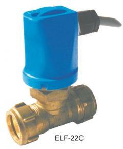 Black Electro Controls ELF-22C liquid flow switch 8bar 22mm