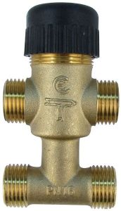 Satchwell Schneider Electric VZ419E15BP04 4-way valve 15mm CV=1.0