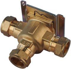 Danfoss HSV3B 3-port valve body 22mm