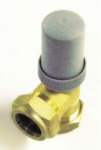 Wolseley Own Brand Center angled auto bypass valve 22mm