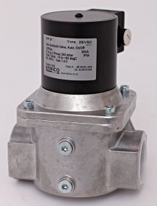 Fantini Banico ZEV80 gas solenoid valve automatic-reset 3inch 230v