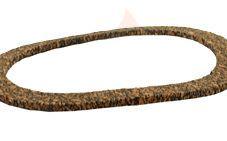 Hamworthy 331212319 round cork gasket
