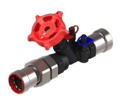 Pegler Yorkshire VSH PowerPress PPSU1260 union commisioning valve 1/2