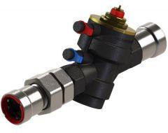 Pegler Yorkshire VSH PowerPress PPSU902 union dynamic valve DN15