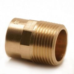 Pegler Yorkshire Endex N3 straight male iron connector 22mm x 1