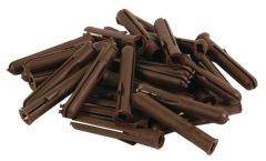 Talon uncarded pack of plugs Brown