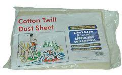 Wolseley Own Brand Center Center Brand cotton twill dust sheet 12 x 9ft