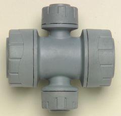 Polybld Polypipe Polyplumb PB2822 2 port manifold 22 x 10mm