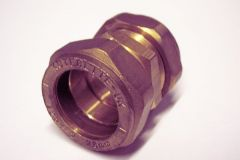 Pegler Yorkshire Kuterlite K610 straight coupling 28mm