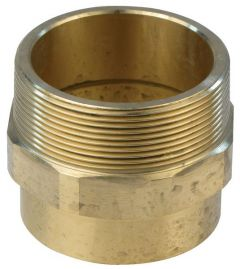 Pegler Yorkshire Endex N3-EB male iron straight connector 67mm x 2.1/2