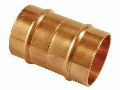 Wolseley Own Brand Center Center Brand integral solder ring straight coupling 8mm