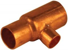 Lawton Tube ACR one end and branch reduced tee 1.1/8 x 7/8 x 5/8