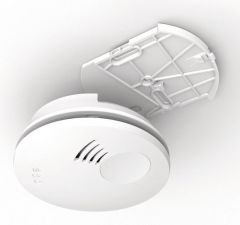Honeywell XS100 optical smoke alarm with alarmscan; 10 year sealed battery