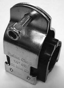 Wolseley Own Brand Jet cushion clamp 5/8 (Pack of 10)