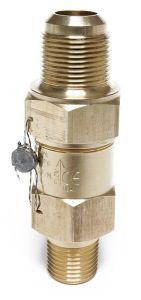 Henry Technologies 5231A straight through pressure relief valve 20.9bar 3/8x1/2