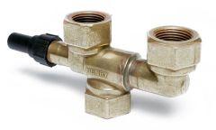Henry Technologies 925 3-way dual shut off valve (FPT) 1/2