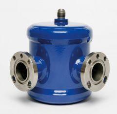 Henry Technologies S9530E flared adjustable level oil regulator 1/4 - 5/8