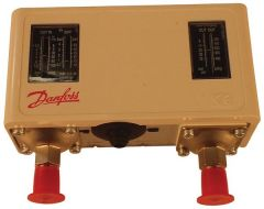 Danfoss KP17B high/low pressure with auto/manual reset switch