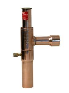 Danfoss KVP15 solder evaporator pressure regulator 5/8
