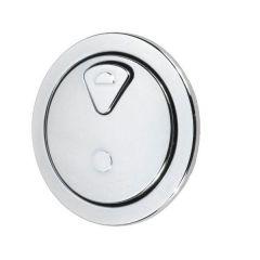 Thomas Dudley Vantage dual flush push button Chrome Plated