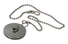 Wolseley Own Brand Center Center Brand ball chain and plug 18 1.3/4 Chrome Plated