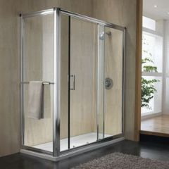 Merlyn Ionic shower wall 1200mm