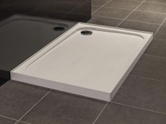 Merlyn Touchstone shower tray with 4 upstands 1200 x 760mm