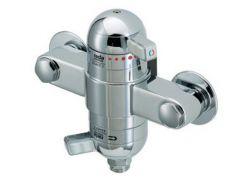 Mira Rada Exact-3EV exposed thermostatic shower control 1/2 with Radatherm service-free cartridge