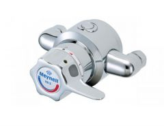 Mira Rada V8/3 L exposed single sequential thermostatic mixing valve with long lever 1/2