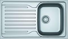 Antea Azn611 Ss 1 Bowl Sink