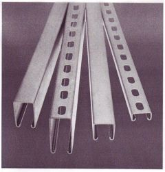 CHANNEL - GALV - SLOT - 41X41X1.5MM 3M