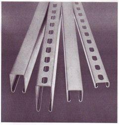 CHANNEL - GALV - SLOT - 41X41X2.5MM 6M